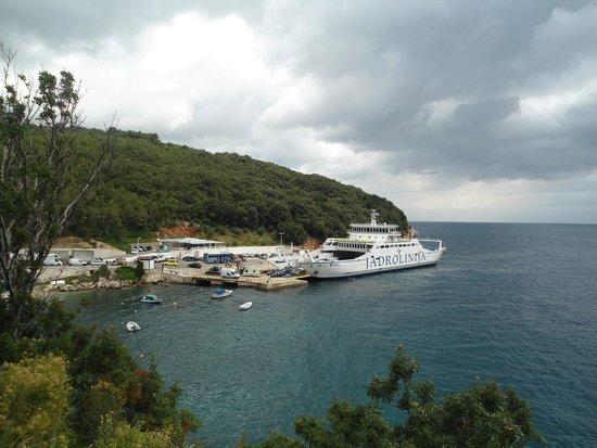 Hotel Carmen: Uitzicht op de baai