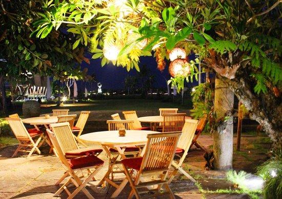 Warung D'Sawah at Night