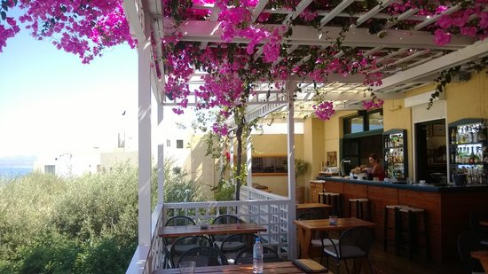 Villa Iokasti: Het restaurant