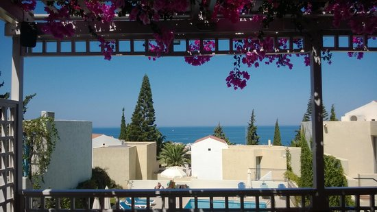 Villa Iokasti: Uitzicht vauit het restaurant