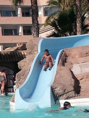 Playalinda Hotel: Un tobogan de las piscinas