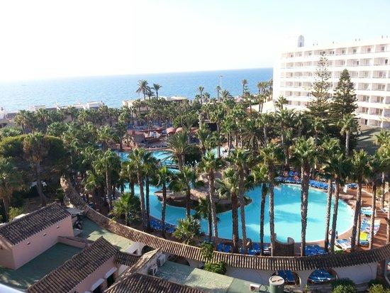 Playalinda Hotel: Vistas desde la habitacion