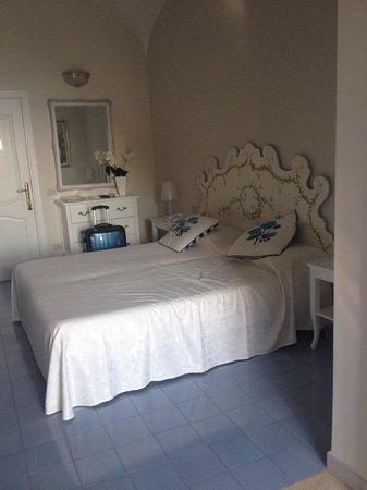 Villa La Tartana: camera da letto