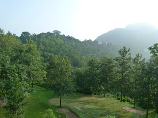 Ananda in the Himalayas: View from room...