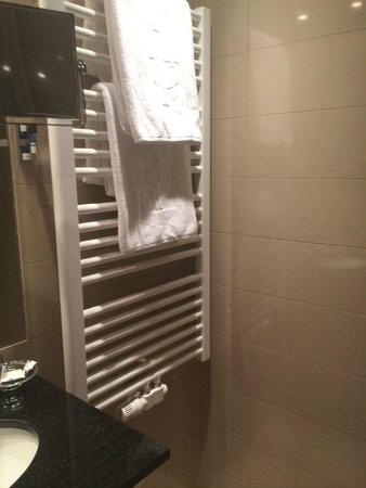 Hotel Am Parkring: Plush towels