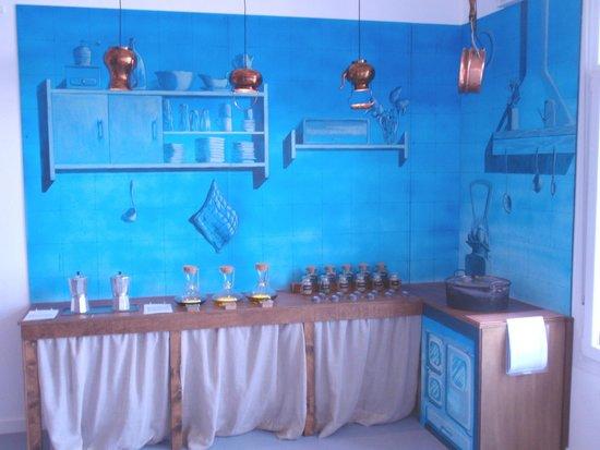Museo de los Aromas: cocina