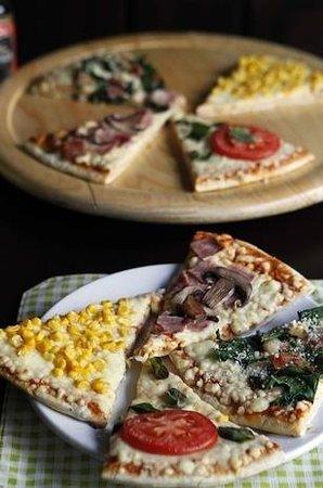Brasa Rodizio pizzas