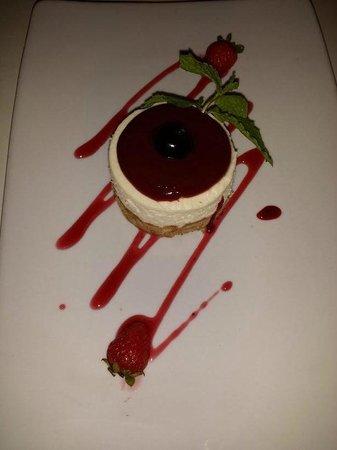 Bianco Restaurant : cheesecake buonissima