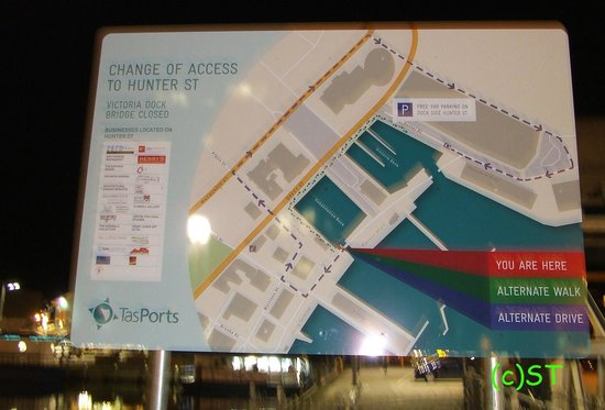 Sullivans Cove : Locality Map