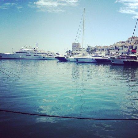 Globales Cortijo Blanco Hotel: The marina