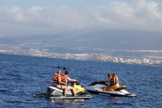 Tenerife Nautical Center: ski-jet