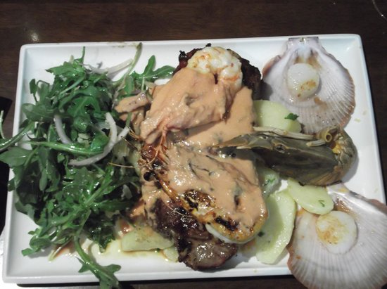 Sorrento Restaurant and Bar: A good plateful.