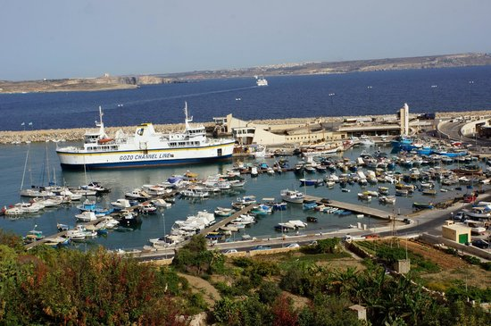 Grand Hotel Gozo: View from Balcony