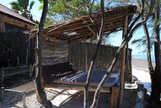 Coral Rock Zanzibar : Private sunbathing area