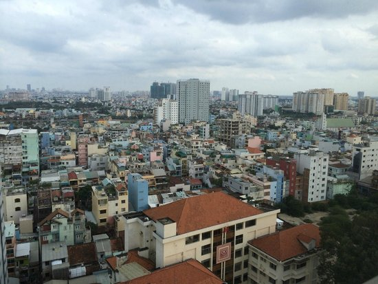 Pullman Saigon Centre: View from my room 1816