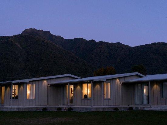 Franz Josef Oasis: Spectacular backdrop
