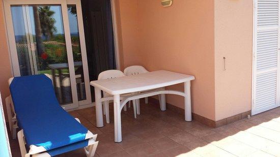 Villas Mar Blau: Terraza