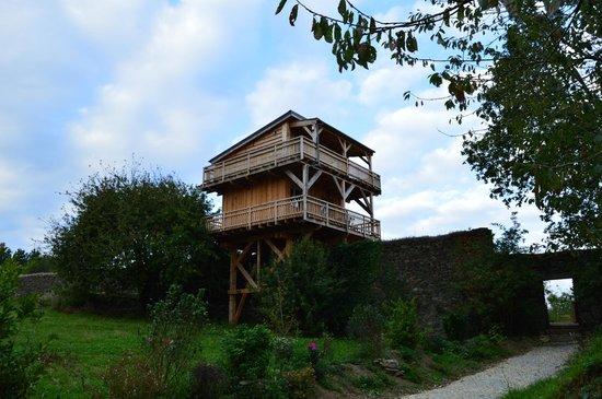 Domaine De Meros : cabane pasha