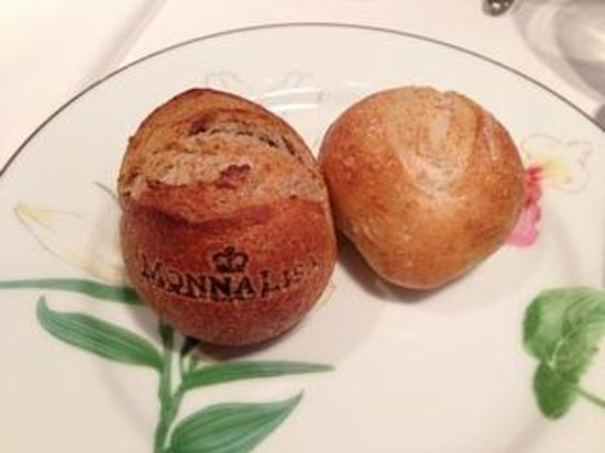 Monariza Ebisuten: 焼き印入りのパン