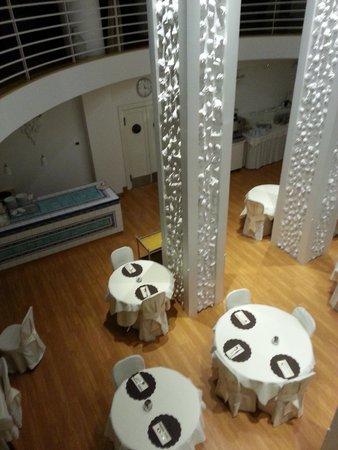 Luxor Hotel Rimini: Зал для завтраков