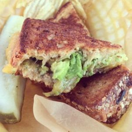 The Grilled Cheese Grill : The Kelsey with avocado