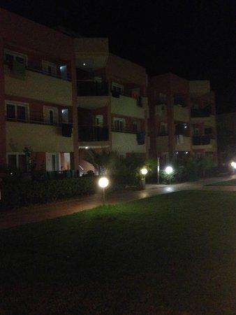 Hotel Marika: Stora delen av hotellet där rum nr 75 finns