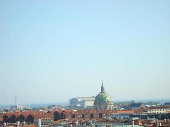 Rundetaarn: View from the top (dome of the Marble Church)