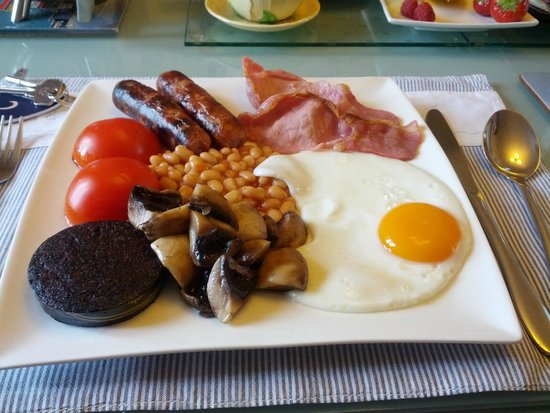 Craig-ma-Cair B & B: Cooked Breakfast