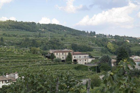 B&B La Bella Vigna: Vom Freisitz, Blick auf die Landschaft