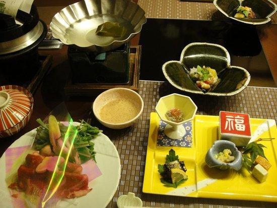 Dogo Prince Hotel : 夕食