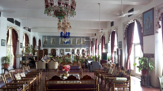 Lake Pichola Hotel: Restaurant and Reciption