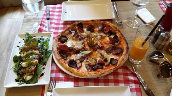 One of the best pizza ������, its my own creation (out of ...