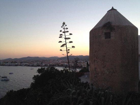 Hostal MarBlau Ibiza : Splendida vista! A 2 passi dal centro ��