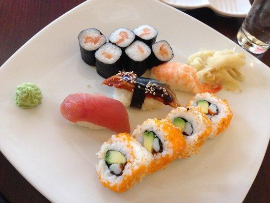 Taisu: sushi platter