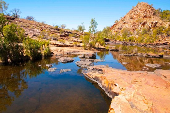 West-Australië, Australië: pool reflections