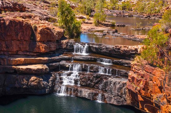 Western Australia, Australien: Bell gorge waterfall 2