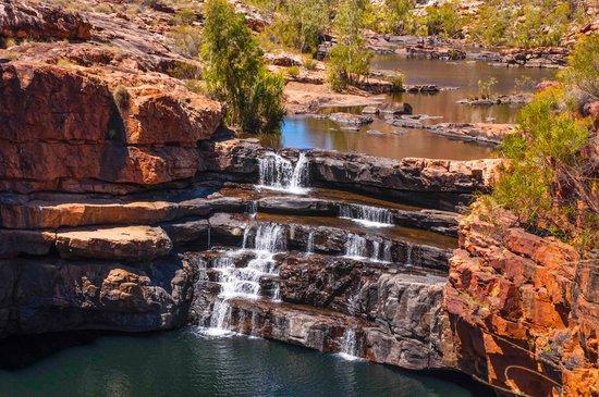 West-Australië, Australië: Bell gorge waterfall 2