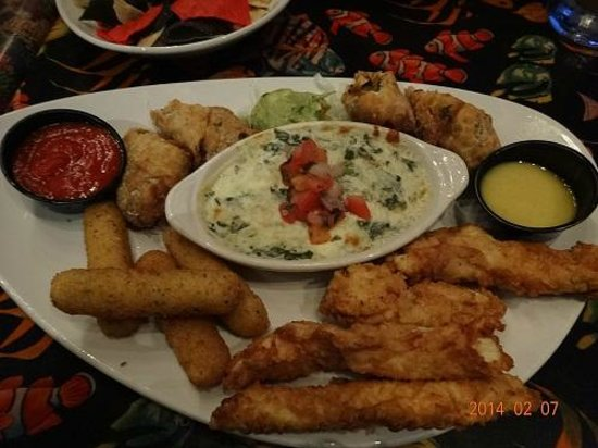 Awesome Appetizer Rainforest Cafe