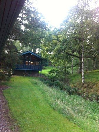 Loch Monzievaird Self Catering Lodges: Lodge Loch Monzievaird