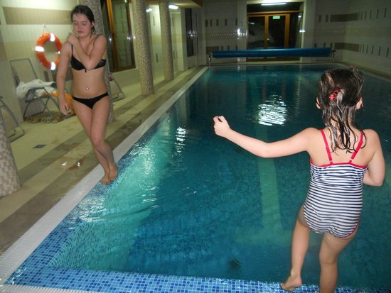 Szymoszkowa Residence: Прекрасный бассейн + сауна и турецкая баня.