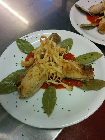 Casanova Restaurant and Wine Bar: Involtini di pesce spada