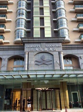 Dorsett Shanghai: hotel from outside