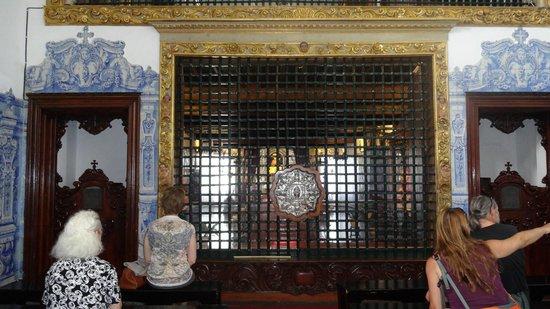 Igreja do Santo Cristo: Sacrario per la preghiera