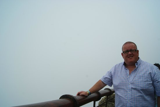 Mirador del Rio: Misty day so no panoramic view