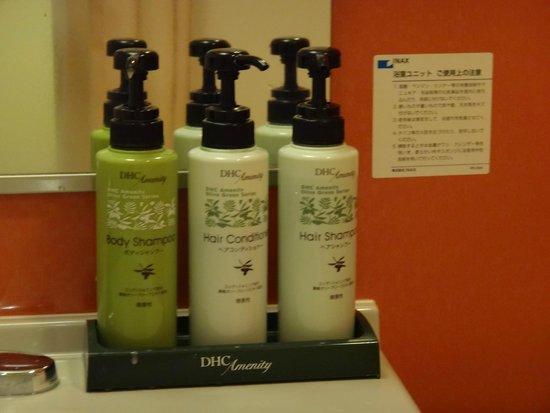 Chisun Inn Karuizawa: DHC (Body Shampoo、Conditioner、 Shampoo)