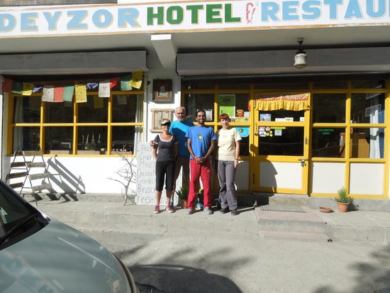 Hotel Deyzor: Photo with hotel owner