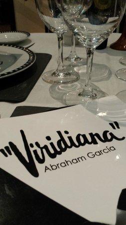 Viridiana : La firma del chef y propietario