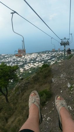 Mount Solaro : Seggiovia monte Solaro