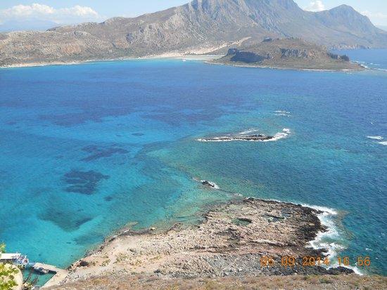 Hotel Zorbas: слияние трех морей бухта Балос
