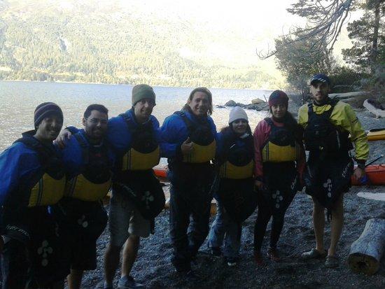 Cuadrante Sur Kayak Bariloche: salida de junio 2014